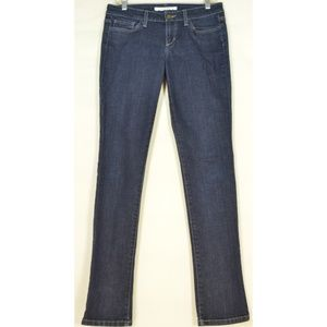 Joe's Jeans 28 x 33 Cigarette skinny dark wash lon